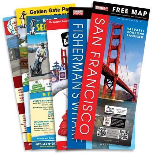 Map San Francisco & MapWharf Visitor Packet