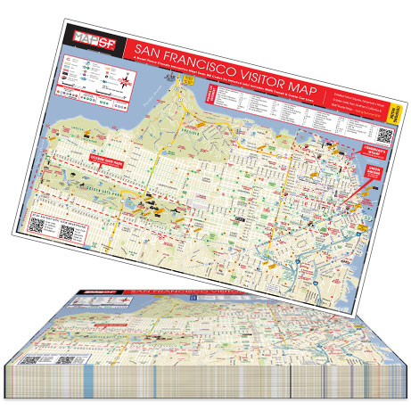 MapSF Countertop Pad of 100 Maps - Order Per Pad - Free San ... on bed map, key map, fan map, poetry map, pa map, seat map, strip map, los angeles city map, owl and mouse map, stroke map, map map, mac map, iphone map, wall map, link map,