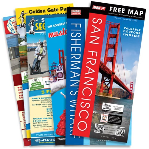 San Francisco Visitor Map Packet Free San Francisco Maps and